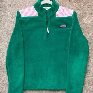 Vineyard Vines Green & Pink Shep Shirt